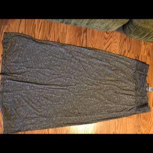Super comfy jersey maxi skirt